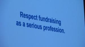 Respect fundraising